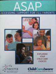 Cover of publication Accessing Support for All Parents
