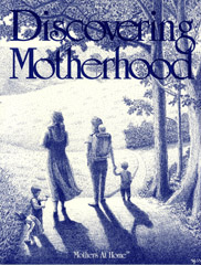 book cover of Discovering Motherhood