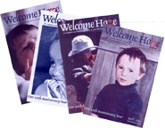 Welcome Home covers
